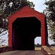 Loy's Station Covered Bridge Poster