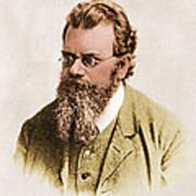 Ludwig Boltzmann, Austrian Physicist Poster