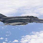 Lufwaffe F-4f Phantom Poster