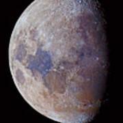 Lunar Colors Poster