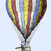 Lunardi's Balloon, 1784 Poster