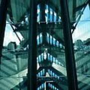 Lyon Gare France Architecture Poster