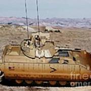 M2 Bradley Fighting Vehicle Poster