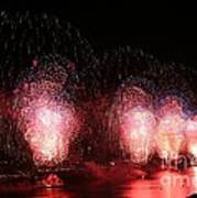 Macy's Fireworks On The Hudson Poster
