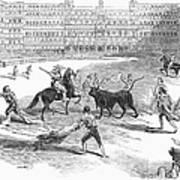 Madrid: Bullfight, 1846 Poster