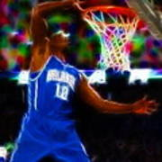 Magical Dwight Howard Poster by Paul Van Scott