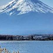 Magnificent Mt Fuji Poster