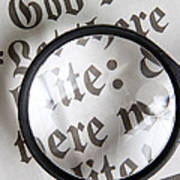Magnifying News Poster