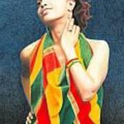 Mahlet Portrait Poster