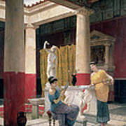 Maidens In A Classical Interior Poster