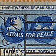Mail Early For Christmas And Peace Poster