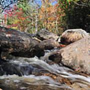 maine 29 Baxter State Park Trailside Stream Poster