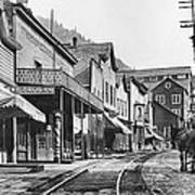 Mainstreet Burke Ghost Town - Idaho Poster