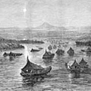 Malaya: Perak River, 1876 Poster