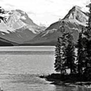 Maligne Lake Poster