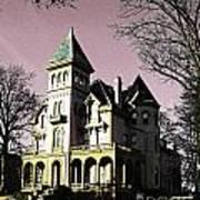 Mallory-neely Victorian Village Memphis Poster