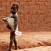 Malnourished Child Poster
