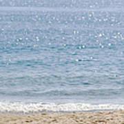 Man On Beach Poster
