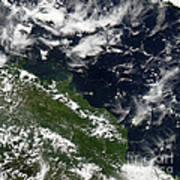 Manam Island, Papua New Guinea Poster