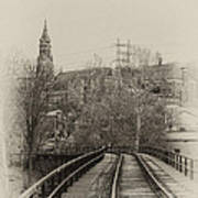 Manayunk From The Tressel Tracks Poster