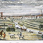 Manchester, England, 1740 Poster