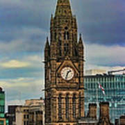 Manchester Town Hall Poster