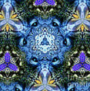Mandala Animal Wisdom Poster