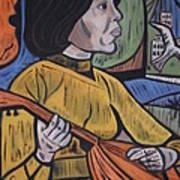 Mandolin Girl Poster