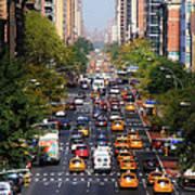 Manhattan Street Poster