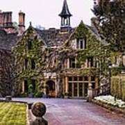 Manor House At Castle Combe  Poster