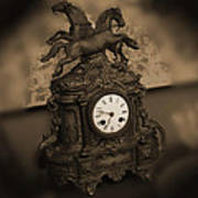 Mantel Clock Poster