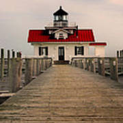 Manteo Lighthouse Poster