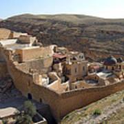Mar Saba Monastery Poster