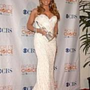 Mariah Carey Wearing A Ysa Makino Gown Poster by Everett
