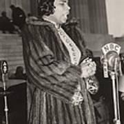 Marian Anderson 1897-1993, At A Nbc Poster