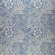 Marigold Wallpaper Design Poster