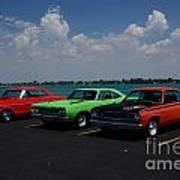 Marine City Car Show Poster