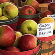Market Apples Poster