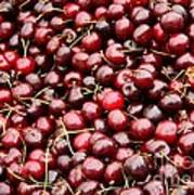 Market Cherries Poster