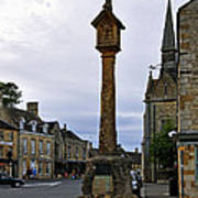 Market Cross - Stow-on-the-wold Poster