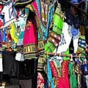 Market Of Djibuti With More Colors Poster by Jenny Senra Pampin