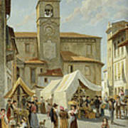 Marketday In Desanzano  Poster