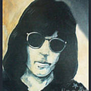 Marky Ramone The Ramones Portrait Poster by Kristi L Randall