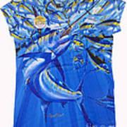 Marlin Ladies Shirt Poster