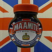 Marmite The Growing Up Spread Poster