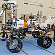 Mars Science Laboratory Rover Poster