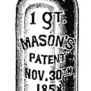 Mason Jar Poster