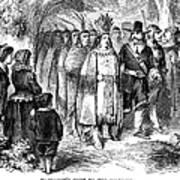 Massasoit (d. 1661) Poster