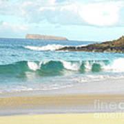 Maui Hawaii Beach Poster by Rebecca Margraf
