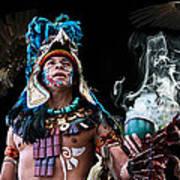 Mayan Spirit Poster by Elizabeth Hart